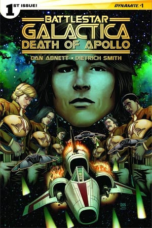 Battlestar Galactica Death Of Apollo #1 Cover B