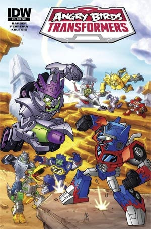 Angry Birds Transformers #2 Cover B