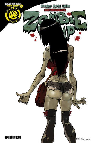 Zombie Tramp Ongoing SDCC Variant #1