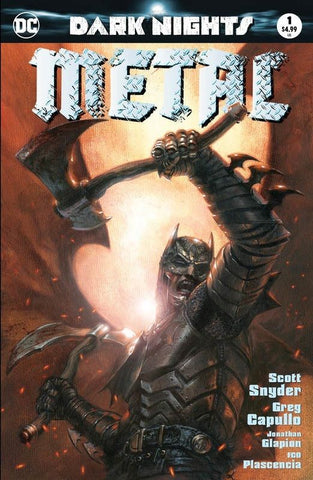 DARK NIGHTS METAL #1 (OF 6) DELL OTTO COLOR VARIANT
