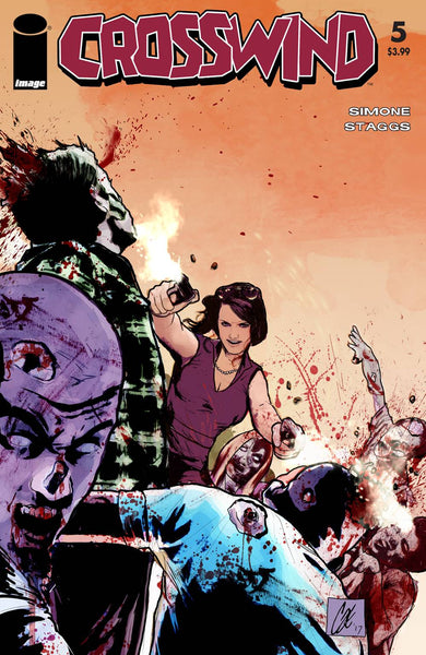CROSSWIND #5 CVR C WALKING DEAD #54 TRIBUTE VAR