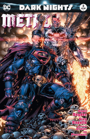 DARK NIGHTS METAL #3 (OF 6) DAVID FINCH EXCLUSIVE
