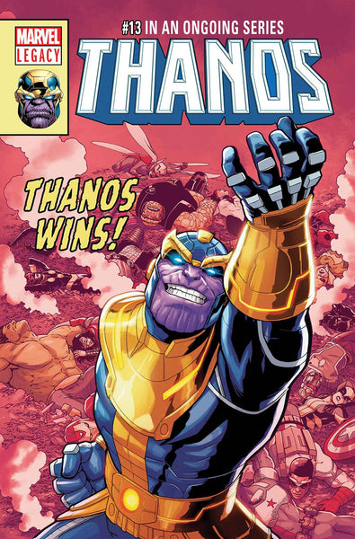 THANOS #13 BURROWS LH VAR LEG WAVE 2