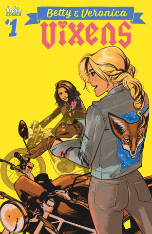 BETTY AND VERONICA VIXENS #1 CVR C FIONA STAPLES