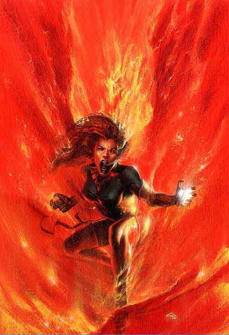 PHOENIX RESURRECTION RETURN JEAN GREY #1 (OF 5) DELL OTTO VIRGIN EXCLUSIVE