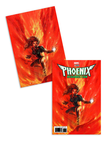 PHOENIX RESURRECTION RETURN JEAN GREY #1 (OF 5) DELL OTTO 2 PACK EXCLUSIVE