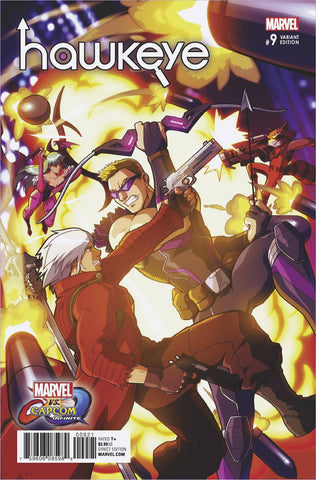 HAWKEYE #9 PORTER MARVEL VS CAPCOM VAR