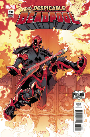DESPICABLE DEADPOOL #290 SILVA PHOENIX VAR LEG