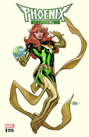 PHOENIX RESURRECTION RETURN JEAN GREY #1 (OF 5) UNKNOWN EXCLUSIVE TERRY DODSON