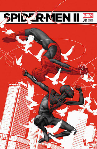 SPIDER-MEN II #1 (OF 5) TEDESCO VAR B