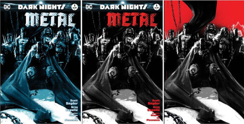 "DARK NIGHTS METAL #1 KRS ""HEAVY METAL"" JOCK EXCLUSIVE 3 PACK"