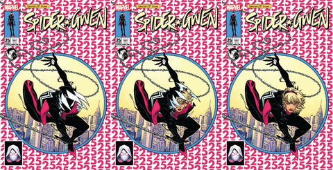 SPIDER-GWEN #25 UNKNOWN EXCLUSIVE MCGUINNESS 3 PACK
