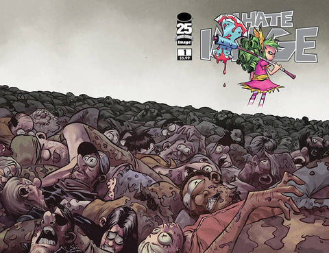 I HATE FAIRYLAND SPEC ED CVR C WALKING DEAD #100 TRIBUTE VAR
