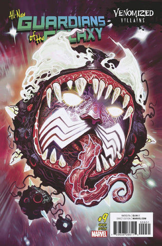 ALL NEW GUARDIANS OF GALAXY #9 VENOMIZED EGO VAR