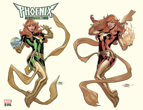 PHOENIX RESURRECTION RETURN JEAN GREY #1 (OF 5) UNKNOWN 2 PACK EXCLUSIVE TERRY DODSON