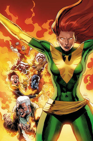 PHOENIX RESURRECTION RETURN JEAN GREY #1 (OF 5) YU GREEN COS