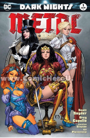DARK NIGHTS METAL #1 (OF 6) JOE BENITEZ HERO UNIVERSITY