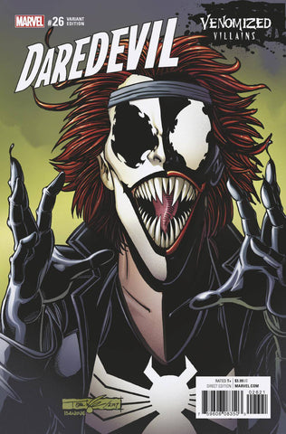 DAREDEVIL #26 VENOMIZED TYPHOID MARY VAR