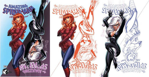 AMAZING SPIDER-MAN RENEW YOUR VOWS #13 LEG UNKNOWN EXCLUSIVE J. SCOTT CAMPBELL 3 PACK