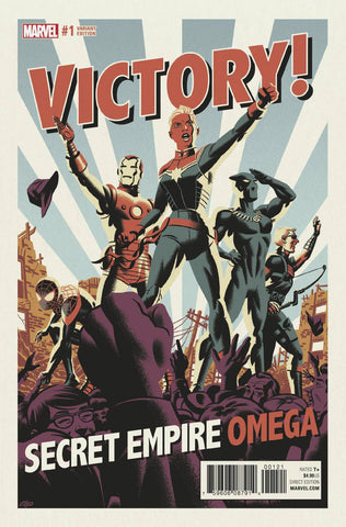 SECRET EMPIRE OMEGA #1 MICHAEL CHO VAR SE