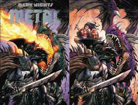 DARK NIGHTS METAL #1 (OF 6) UNKNOWN  EXCLUSIVE TYLER KIRKHAM 2 PACK