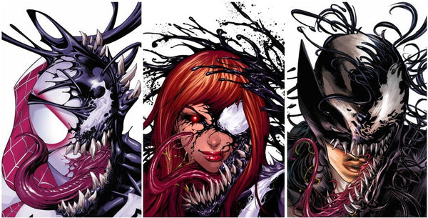 VENOMVERSE #1 (OF 5) KRS VIRGIN 3 PACK