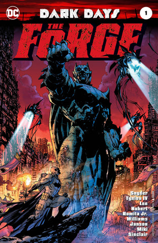 DARK DAYS THE FORGE #1 FOIL COVER