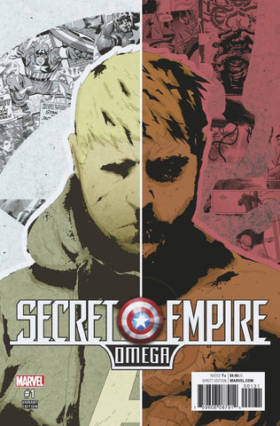 SECRET EMPIRE OMEGA #1 NO MORE HYDRA VAR SE