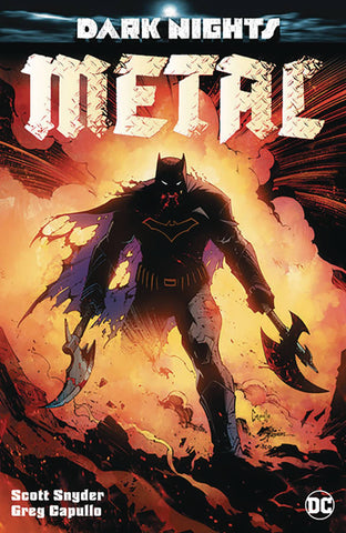 DARK NIGHTS METAL #1 (OF 6) EXCLUSIVE GREG CAPULLO VARIANT