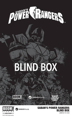 LCSD 2017 SABAN POWER RANGERS BLIND BOX