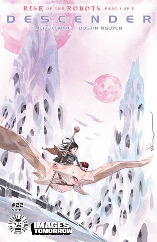 DESCENDER #22 CVR C IMAGES OF TOMORROW VARIANT