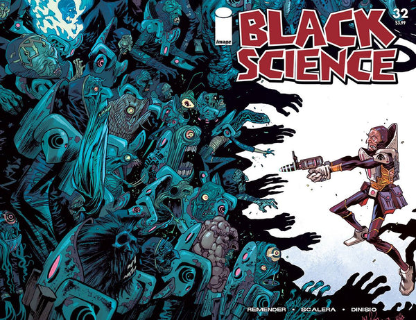 BLACK SCIENCE #32 CVR C WALKING DEAD #5 TRIBUTE VAR