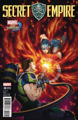 SECRET EMPIRE #8 (OF 10) MIZUNO MARVEL VS CAPCOM VAR