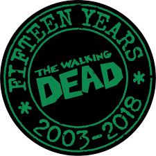 WALKING DEAD 15TH ANNIVERSARY BLIND BAG 15 PACK