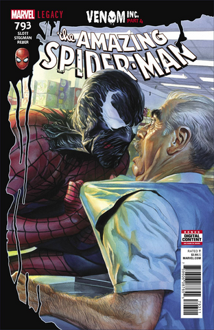 AMAZING SPIDER-MAN #793 LEG VENOM INC