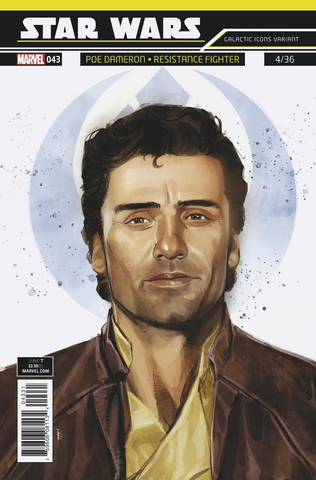 STAR WARS #43 REIS GALACTIC ICON POE VAR