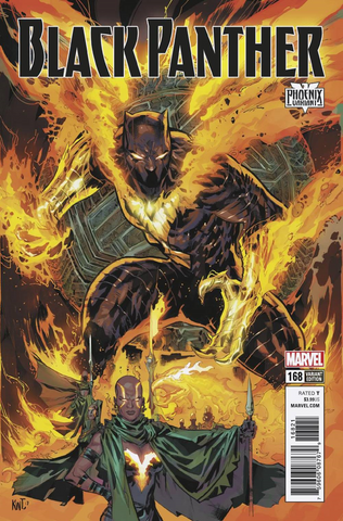 BLACK PANTHER #168 LASHLEY PHOENIX VAR LEG