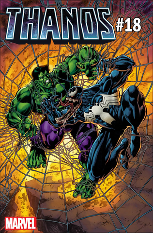 THANOS #18 PERKINS VENOM 30TH VAR LEG