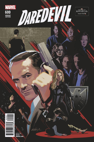 DAREDEVIL #600 AGENTS OF SHIELD ROAD TO 100 VAR LEG
