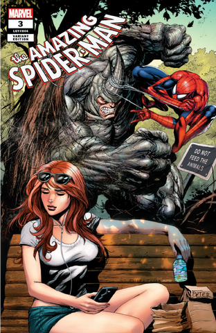 AMAZING SPIDER-MAN #3 UNKNOWN TYLER KIRKHAM EXCLUSIVE