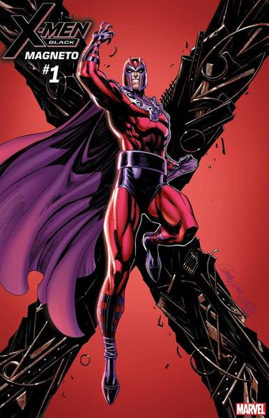 X-MEN BLACK MAGNETO #1 J SCOTT CAMPBELL