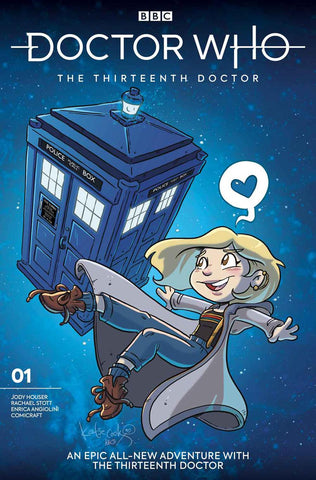 DOCTOR WHO 13TH #1 CVR I COOK