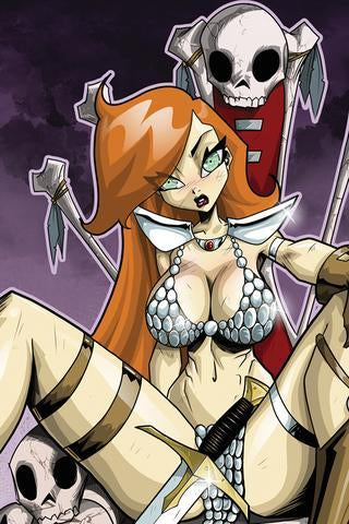 RED SONJA #1 DAN MENDOZA VIRGIN SSCO EXCLUSIVE