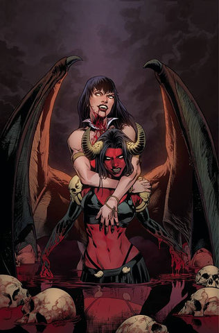 VAMPIRELLA VS PURGATORI #2 PAGULAYAN VIRGIN INCV