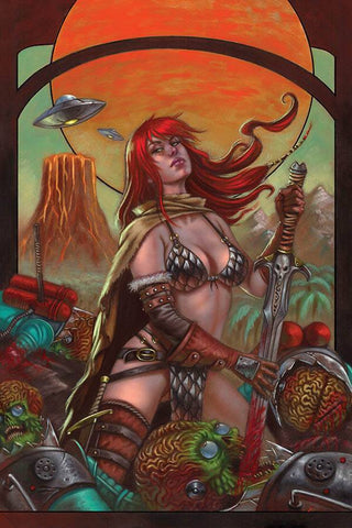 MARS ATTACKS RED SONJA #1 STRATI VIRGIN INCV