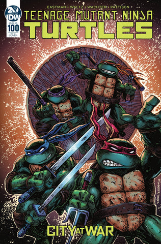 TMNT TEENAGE MUTANT NINJA TURTLES ONGOING #100 INCV LAIRD & EASTMAN