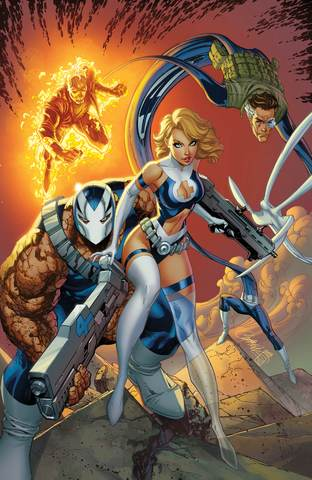 FANTASTIC FOUR #1 UNKNOWN VIRGIN J SCOTT CAMPBELL VAR