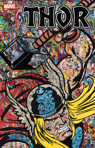 THOR #1 MR GARCIN COLLAGE VAR