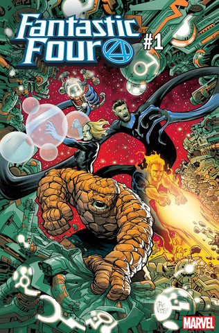 FANTASTIC FOUR #1 POWELL VAR