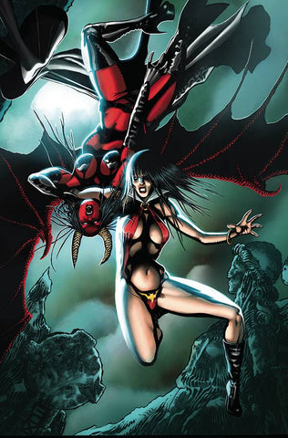 VAMPIRELLA VS PURGATORI #2 FOX VIRGIN INCV